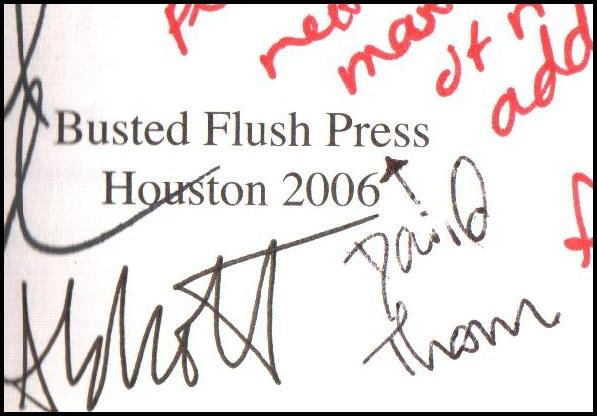 David Thompson's Signature